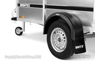 Brentex-Trailer kastihaagis BREN-3015 keevisraamil