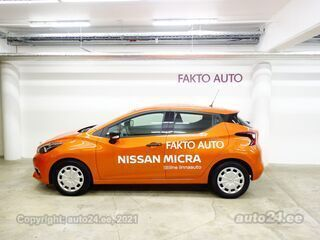 Nissan Micra Visia 1.0 74kW