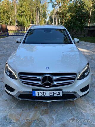 Mercedes-Benz GLC 220 d 4MATIC AMG must sisu Designo valge värv 2.2 125kW