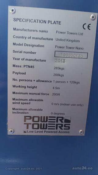Power Tower Nano Tõstuk