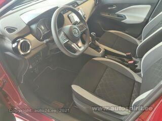 Nissan Micra IG-T 90 Acenta MT 0.9 66kW