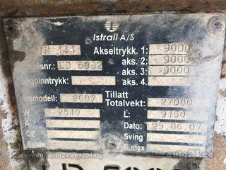 Krone Istrail 3-AXLE TIPPER