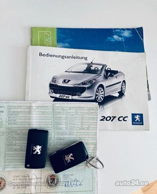 Peugeot 207 CC 1.6 88kW
