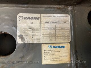 Krone SD Cool Liner + BITEMP DOUBLE STOCK