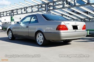 Mercedes-Benz S 600 Coupe 6.0 V12 290kW