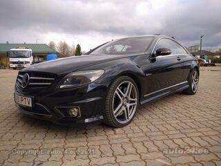 Mercedes-Benz CL 63 AMG 6.2 386kW