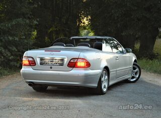 Mercedes-Benz CLK 230 Elegance 2.3 Kompressor 145kW