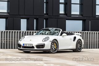 Porsche 911 Turbo S Cabriolet 3.8 B6 412kW