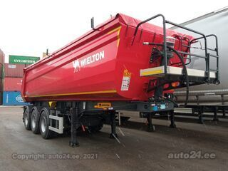Wielton NW3 S31m3 HPKC55 Hardox Light 18T sadul