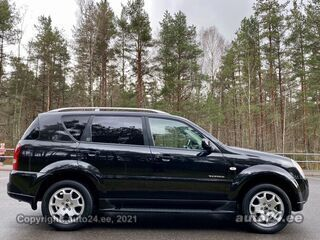 SsangYong Rexton RX270XVT FACELIFT LIMITED EDITION INDIVIDUA 2.7 XDI ATM AWD 137kW
