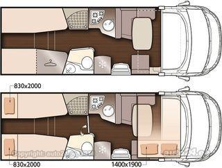 McLouis NEVIS 373 2021 ALL INCLUSIVE 2.3 Multijet II EURO 6 D 118kW