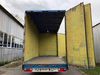 Maur Bilpåbygg 124 AMB-L SIDE OPENING