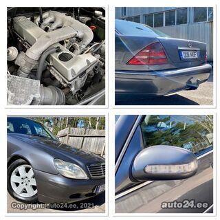Mercedes-Benz S 350 W140 & W220 INDIVIDUAL 3.5 R6 TDi ATM 110kW