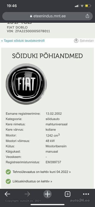 Fiat Doblo 1.2 48kW