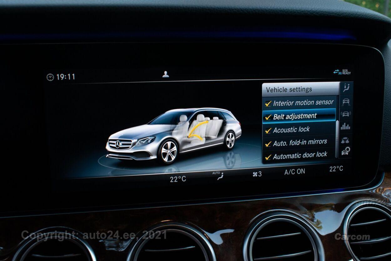 Mercedes-Benz E 220 Avantgarde Night Assistance+ Winter Widescre 2.0 d BlueTec  143 kW