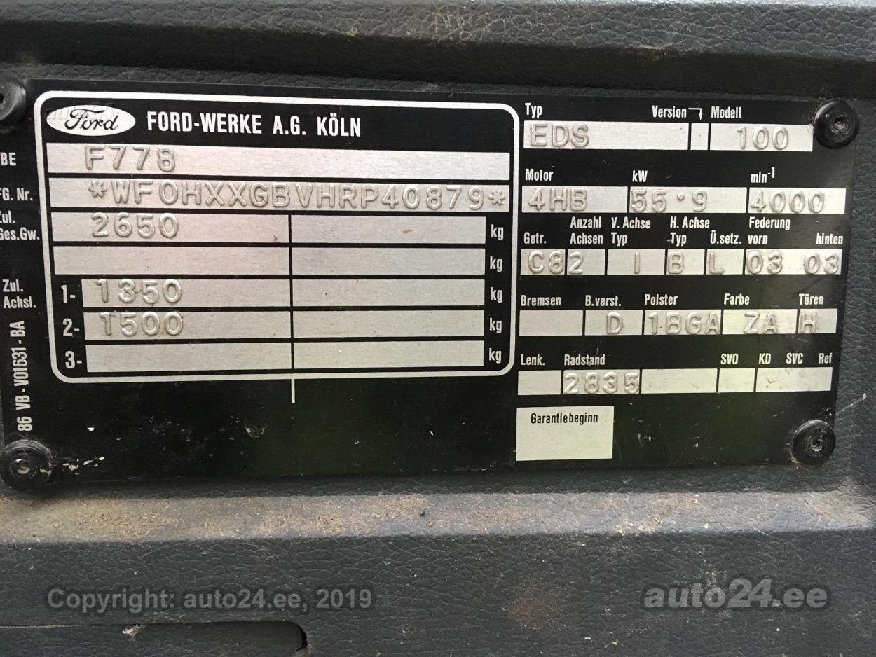 Ford Transit 2.5 56kW