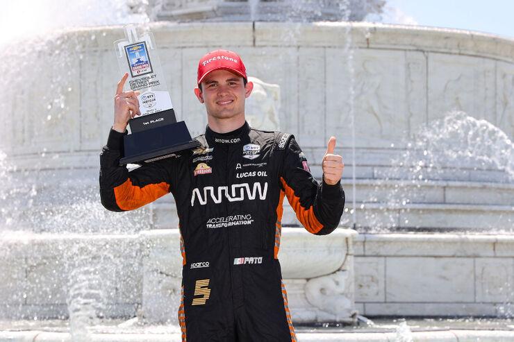 Pato O'Ward. Foto: Joe Skibinski / Indycar