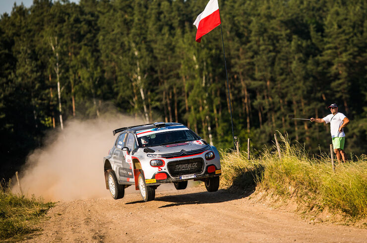 Roland Poom. Foto: Bastien Roux / DPPI / FIA ERC