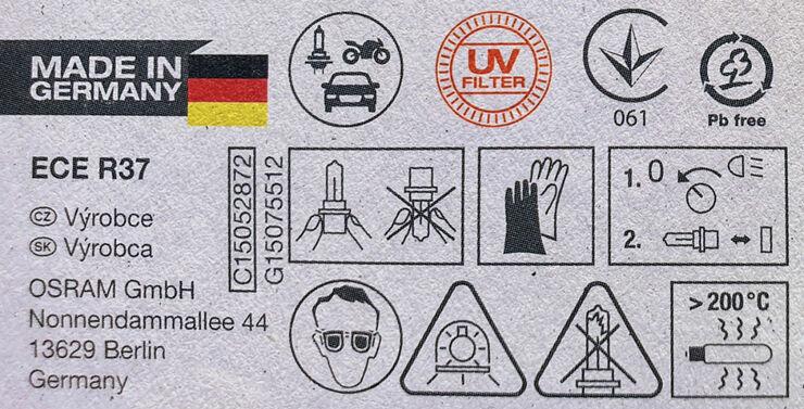 Rohkelt piktogramme, aga esmajoones tuleb otsida R-tähega tüübikinnitust, pildil siis R37 Foto: auto.geenius.ee
