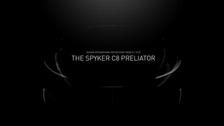 Spyker C8 Preliator peibutuspilt. Foto: Spyker