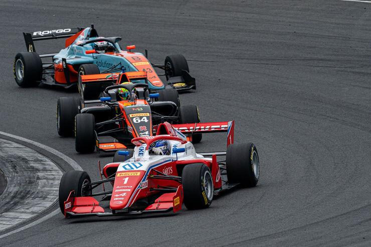 Paul Aron kihutamas Zandvoorti rajal. Foto: Formula Regional by Alpine