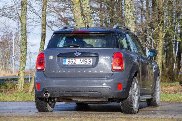 MINI Cooper S E Countryman ALL4. Foto: Laas Valkonen