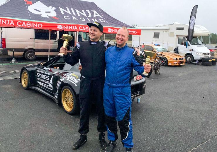 Jako Pino ja Ao Vaida saavutasid võistlusel Soomes Pro-klassis kaks kõrgemat kohta. Foto: erakogu
