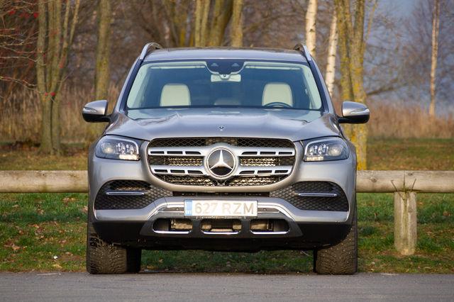 Mercedes-Benz GLS. Foto: Laas Valkonen