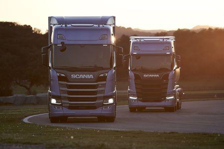 Scania R- ja S-seeria. Foto: Scania