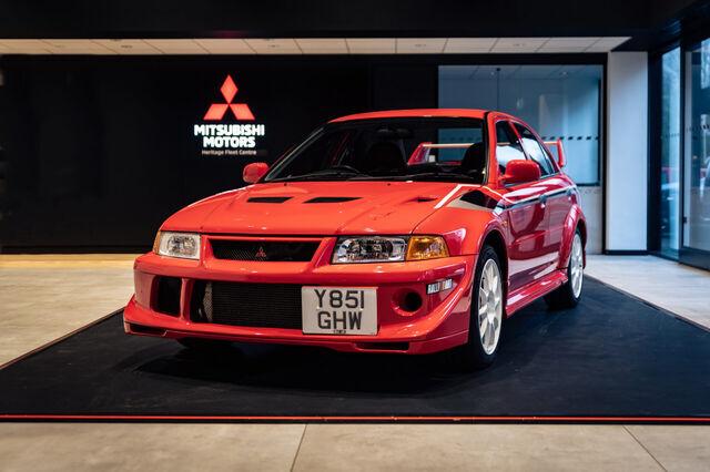 Mitsubishi Lancer Evolution VI Tommi Mäkinen Edition. Foto: auto.geenius.ee