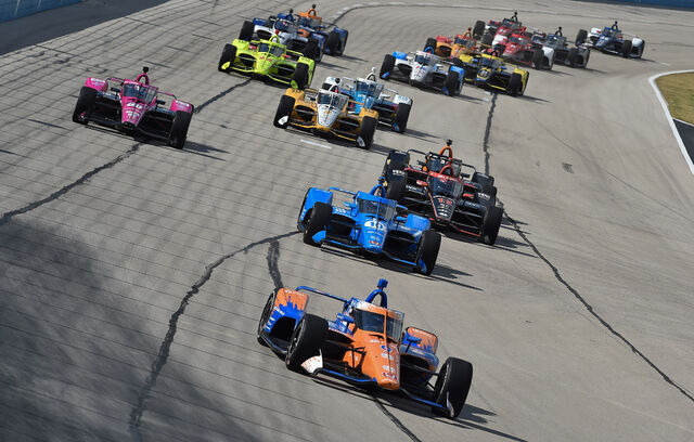 Indycar etappi on juhtimas Scott Dixon. Foto: Chris Owens / Indycar