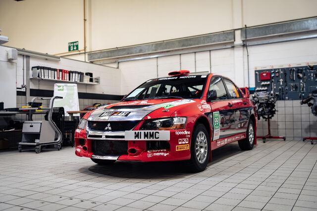 Mitsubishi Lancer Evolution IX Group N. Foto: auto.geenius.ee