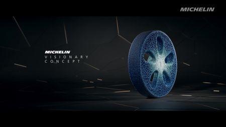 Michelin Visionary Concept. Foto: Michelin