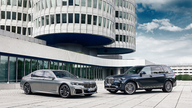 BMW 7. seeria ja BMW X7. Foto: BMW