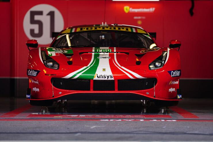 Ferrari 488 GTE EVO. Foto: Facebook, FIA WEC / auto.geenius.ee