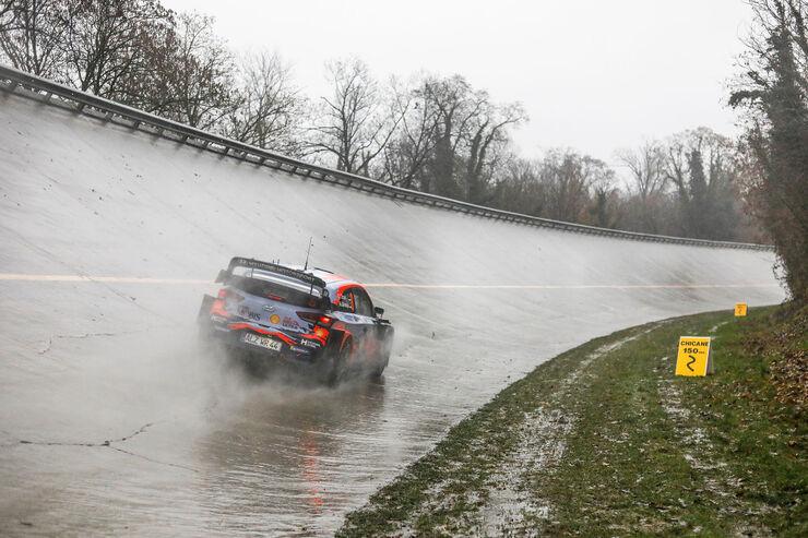 Ott Tänak kihutamas 2020. aasta Monza rallil. Foto: Hyundai Motorsport