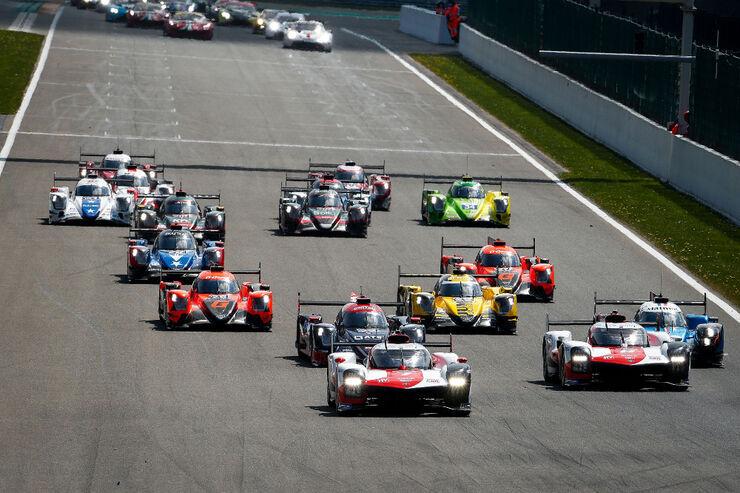 Sportautode MM-sarja avaetapp Spa ringrajal. Foto: Toyota Gazoo Racing