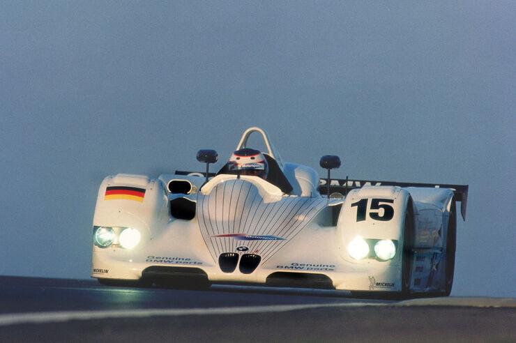 BMW V12 LMR kihutamas 1999. aastal Le Mans'is. Foto: BMW Motorsport
