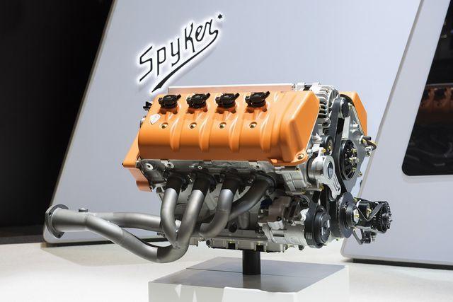 Spykerile plaanitud mootor. Foto: Spyker