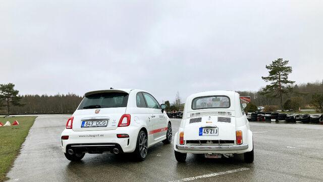 Abarth 595 Turismo, Fiat 500 Abarth. Foto: Laas Valkonen