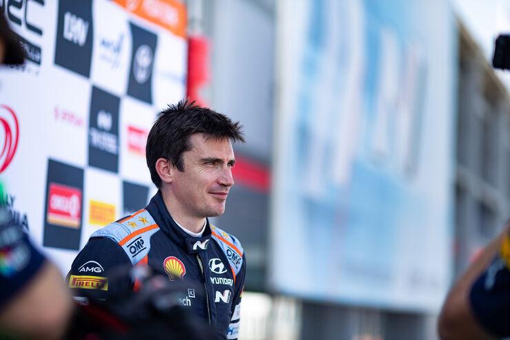 Craig Breen. Foto: Hyundai Motorsport