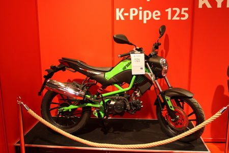 Kymco K-Pipe 125. Foto: Tarmo Riisenberg