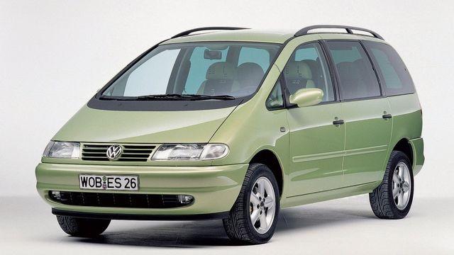 Esimese põlvkonna VW Sharan. Foto: Volkswagen