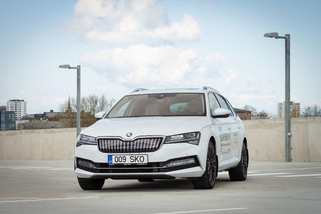 Škoda Superb iV. Foto: Laas Valkonen
